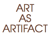 Art as Artifact